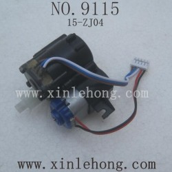 XINLEHONG Toys 9115 Parts Front Steering Engine 15-ZJ04