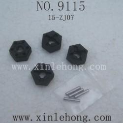 xinlehong 9115 parts Six Angel Connector 15-ZJ07