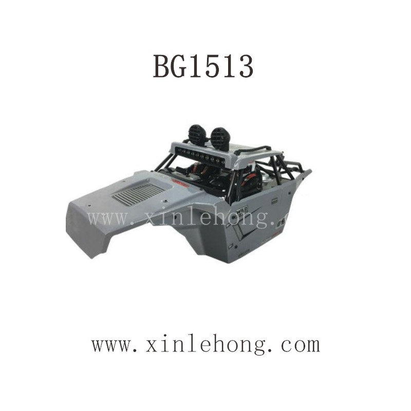 SUBOTECH BG1513 Parts-Car Body Shell Gray