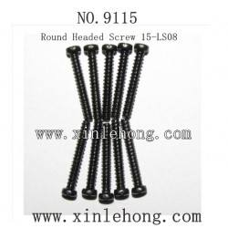 XINLEHONG Toys 9115 CAR parts-Round Headed Screw 15-LS08