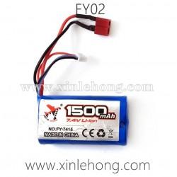 FEIYUE FY02 Parts-Battery 7.4V 1500mAh