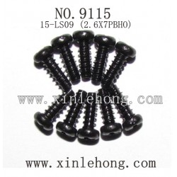 xinlehong toys 9115 car parts Round Headed Screw 15-LS09