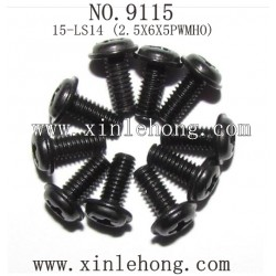 XINLEHONG TOYS 9115 parts Round Headed Screw 15-LS14