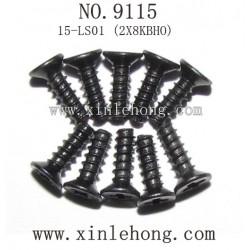 XINLEHONG TOYS 9115 PARTS Countersunk Head Screws 15-LS01