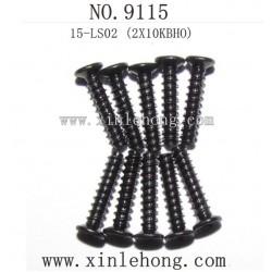 XINLEHONG TOYS 9115 Car parts Countersunk Head Screws 15-LS02