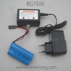 SUBOTECH BG1506 Parts-Battery and EU Charger