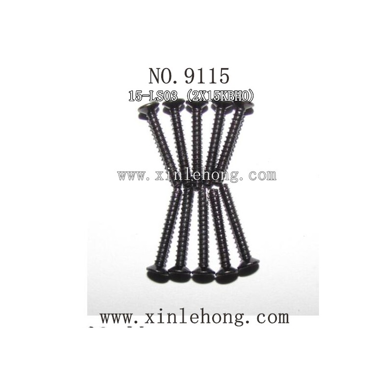XINLEHONG TOYS 9115 CAR parts Countersunk Head Screws 15-LS03
