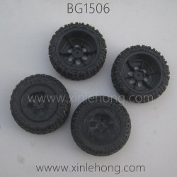 SUBOTECH BG1506 Parts-Wheels Complete