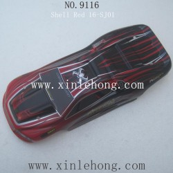 XINLEHONG Toys 9116 car Car Shell Red 16-SJ01