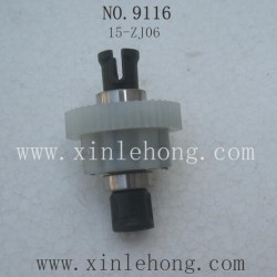 XINLEHONG TOYS 9116 Car parts Differential 15-ZJ06