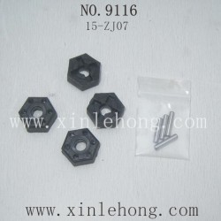 Xinlehong toys 9116 parts-12mm Six Angel Connector