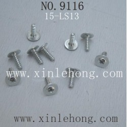 XINLEHONG TOYS 9116 CAR PARTS Round Headed Screw 15-LS13