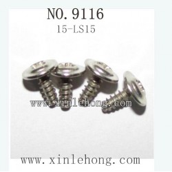 XINLEHONG TOYS 9116 PARTS Round Headed Screw 15-LS15