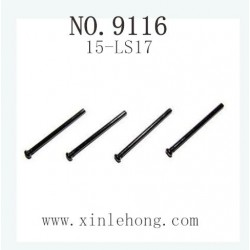 XINLEHONG TOYS 9116 Car parts Round Headed Screw 15-LS17