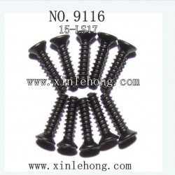 xinlehong toys 9116 parts Countersunk Head Screw 15-LS05