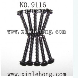 XINLEHONG TOYS 9116 Car parts Countersunk Head Screws 15-LS03
