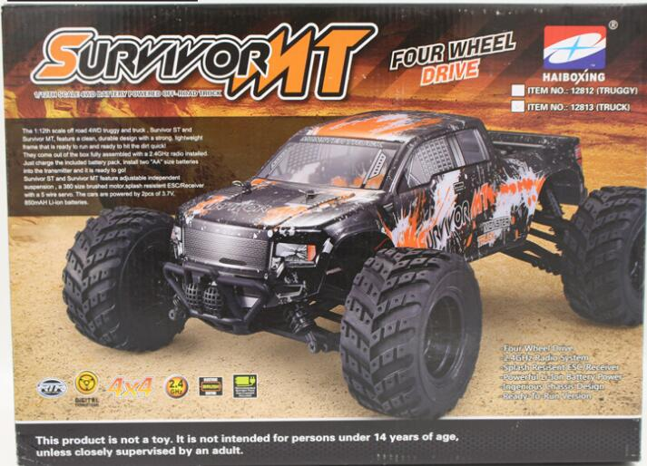 HBX 12813 SURVIVOR RC Car parts